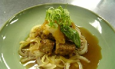 サイコロおろしポン酢焼き
