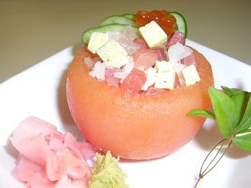 トマト釜ちらし寿司